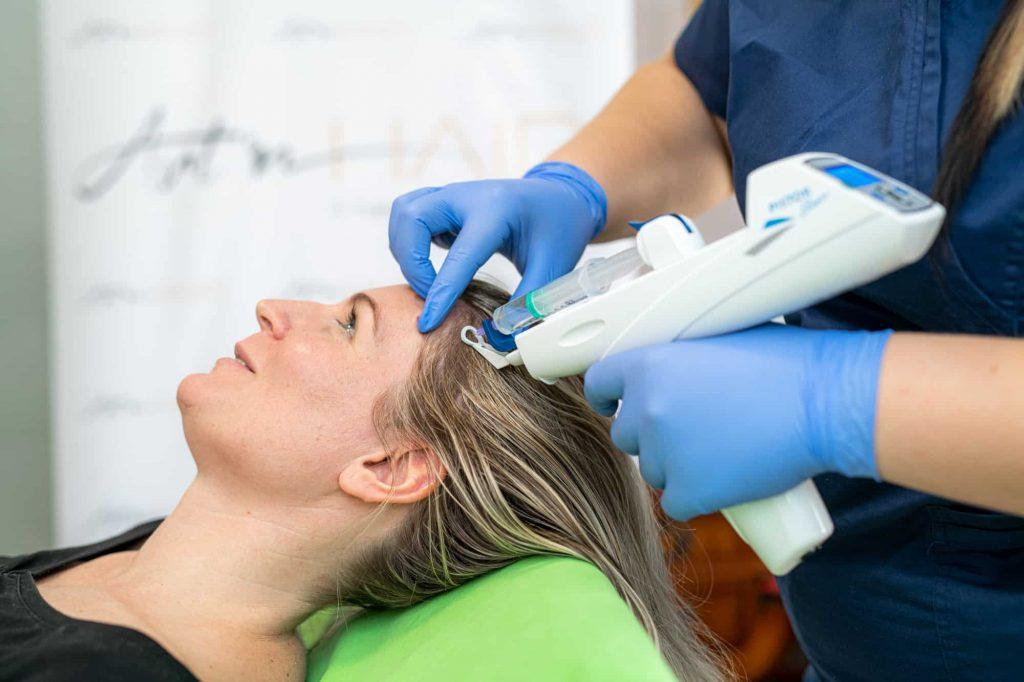 mezoterápiás kezelés