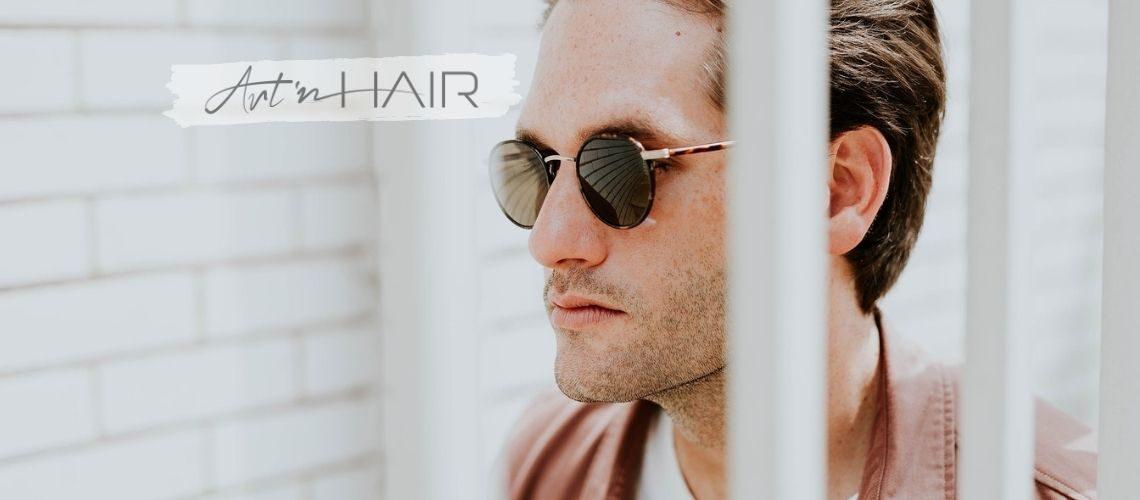 hajbeültetés ára - borítókép - napszemüveges férfi